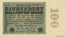 100 Millions Mark  GERMANY  1923 P.107e