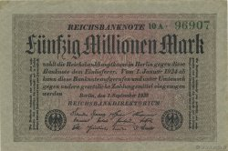 50 Millions Mark ALLEMAGNE  1923 P.109a SUP+