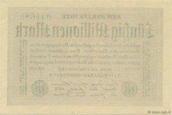 50 Millions Mark ALLEMAGNE  1923 P.109b pr.NEUF