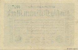 50 Millions Mark ALLEMAGNE  1923 P.109c pr.SUP