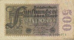 500 Millions Mark ALLEMAGNE  1923 P.110a TTB+