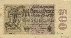 500 Millions Mark ALLEMAGNE  1923 P.110d B