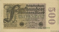 500 Millions Mark ALLEMAGNE  1923 P.110b SUP