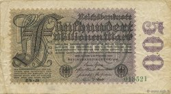 500 Millions Mark ALLEMAGNE  1923 P.110e TB