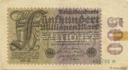 500 Millions Mark ALLEMAGNE  1923 P.110e TTB