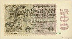 500 Millions Mark ALLEMAGNE  1923 P.110e pr.NEUF