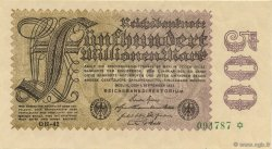 500 Millions Mark ALLEMAGNE  1923 P.110f pr.NEUF