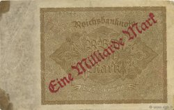 1 Milliard Mark ALLEMAGNE  1923 P.113a TB
