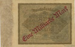 1 Milliard Mark ALLEMAGNE  1923 P.113a TTB