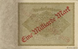 1 Milliard Mark ALLEMAGNE  1923 P.113a SUP