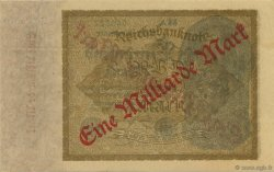 1 Milliard Mark ALLEMAGNE  1923 P.113a SPL
