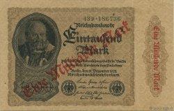 1 Milliard Mark ALLEMAGNE  1923 P.113b SUP+
