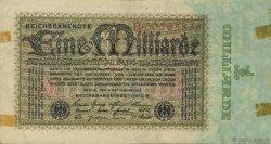 1 Milliard Mark ALLEMAGNE  1923 P.114 TTB