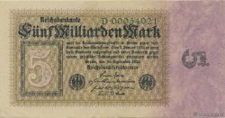 5 Milliards Mark ALLEMAGNE  1923 P.115a