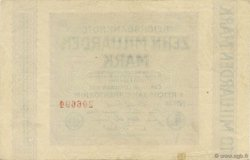 10 Milliards Mark ALLEMAGNE  1923 P.117a pr.SUP