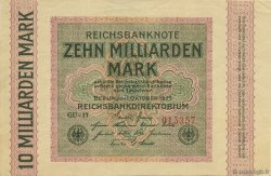 10 Milliards Mark ALLEMAGNE  1923 P.117a SUP+