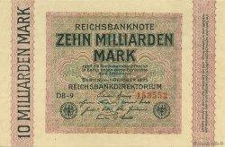 10 Milliards Mark ALLEMAGNE  1923 P.117b pr.NEUF
