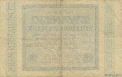 20 Milliards Mark ALLEMAGNE  1923 P.118f TB à TTB