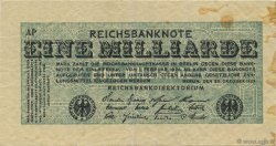1 Milliard Mark ALLEMAGNE  1923 P.122 TTB