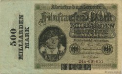 500 Milliard Mark ALLEMAGNE  1923 P.124a TTB+