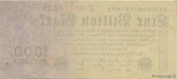 1 Billion Mark ALLEMAGNE  1923 P.129 SUP