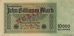 10 Billions Mark ALLEMAGNE  1923 P.131as SPL