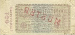 100 Milliards Mark ALLEMAGNE  1923 P.133s SUP