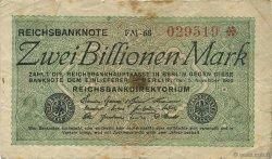 2 Billions Mark ALLEMAGNE  1923 P.135a TB