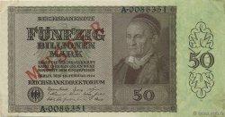 50 Billions Mark ALLEMAGNE  1924 P.139s SUP+