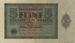 5 Billions Mark ALLEMAGNE  1924 P.141 TTB+