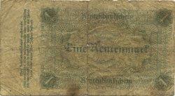 1 Rentenmark ALLEMAGNE  1923 P.161 B