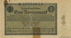 1 Rentenmark ALLEMAGNE  1923 P.161 TB