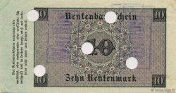 10 Rentenmark ALLEMAGNE  1923 P.164s SPL