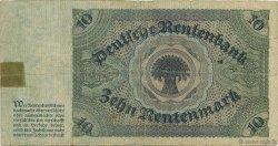 10 Rentenmark ALLEMAGNE  1925 P.170 TB
