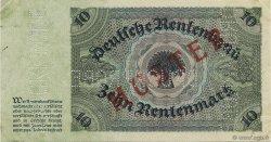 10 Rentenmark ALLEMAGNE  1925 P.170s pr.SUP