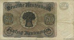 50 Rentenmark ALLEMAGNE  1934 P.172 TB