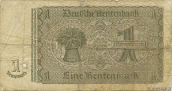 1 Rentenmark ALLEMAGNE  1937 P.173b B