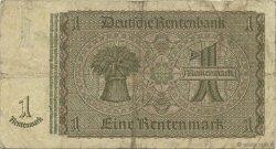 1 Rentenmark ALLEMAGNE  1937 P.173b TB