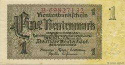 1 Rentenmark ALLEMAGNE  1937 P.173b SUP
