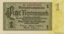 1 Rentenmark ALLEMAGNE  1937 P.173b pr.NEUF