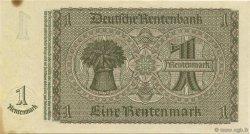 1 Rentenmark ALLEMAGNE  1937 P.173b SPL