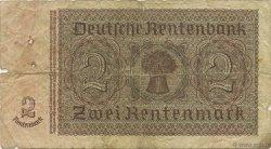 2 Rentenmark ALLEMAGNE  1937 P.174a B