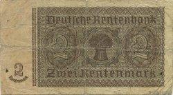 2 Rentenmark ALLEMAGNE  1937 P.174b B