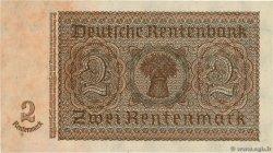 2 Rentenmark ALLEMAGNE  1937 P.174b SPL