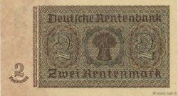 2 Rentenmark ALLEMAGNE  1937 P.174b pr.NEUF