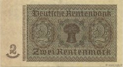 2 Rentenmark ALLEMAGNE  1937 P.174b SUP