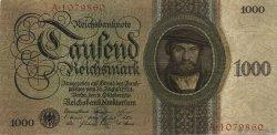 1000 Reichsmark ALLEMAGNE  1924 P.179 TTB