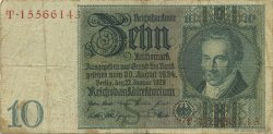 10 Reichsmark  GERMANIA  1929 P.180a
