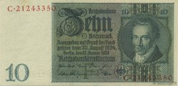 10 Reichsmark ALLEMAGNE  1929 P.180a SUP
