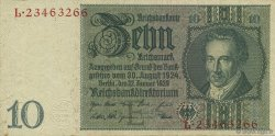 10 Reichsmark ALLEMAGNE  1929 P.180a SUP